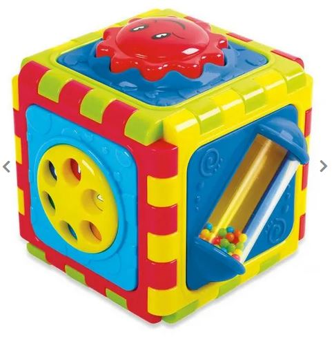 Colourful Baby activity cube