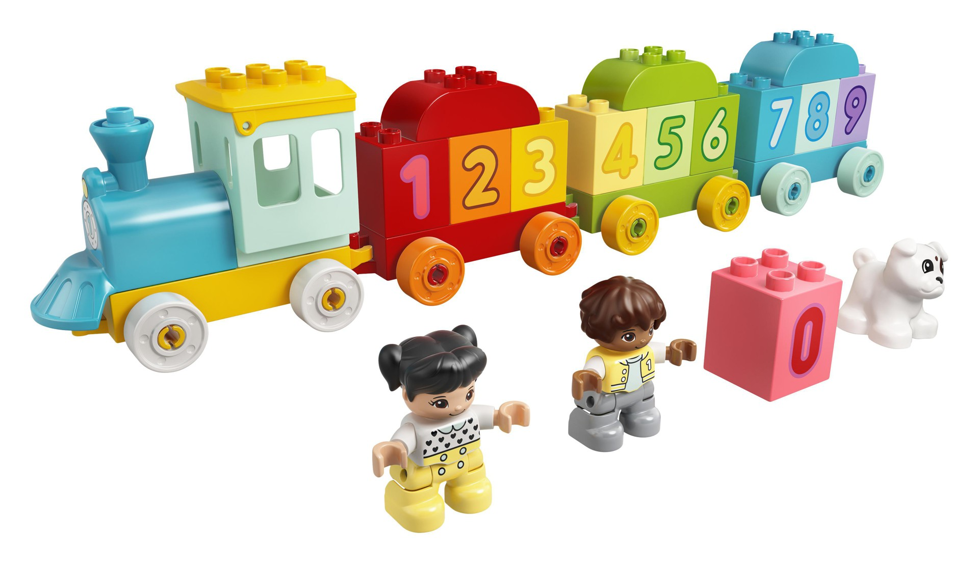Duplo Number Train - Learn to count