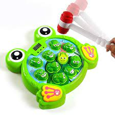 Interactive Whack A Frog Game